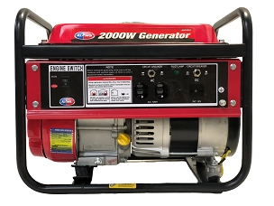 2000-Watt  Gas Powered Portable Generator