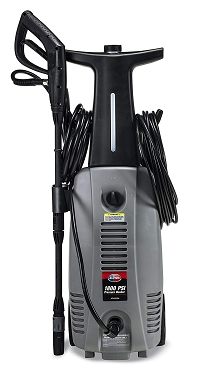 1800 PSI 1.6 GPM Electric Pressure Washer with Hose Reel for House, Walkway, Car and Outdoor Cleaning
