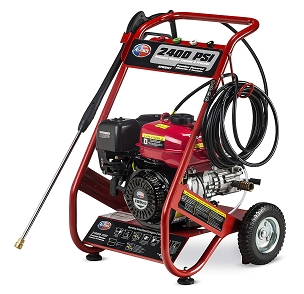 2400 PSI 2.5 GPM Gas Powered Pressure Washer