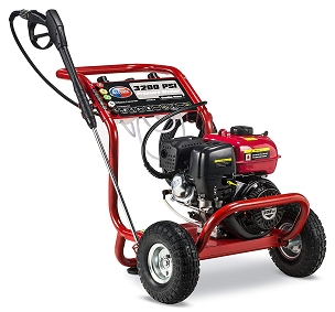 3200 PSI 2.6 GPM Gas Powered Pressure Washer EPA & CARB Approved