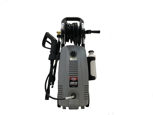 2000 PSI 1.6 GPM Electric Pressure Washer with Hose Reel for Buildings, Walkway, Vehicles and Outdoor Cleaning