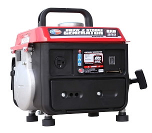 900-Watt Gasoline Powered Portable 2 Stroke  Generator